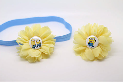 Luciana- Minion Headbands