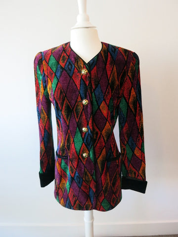 ESCADA IN LIVING COLOR BLAZER