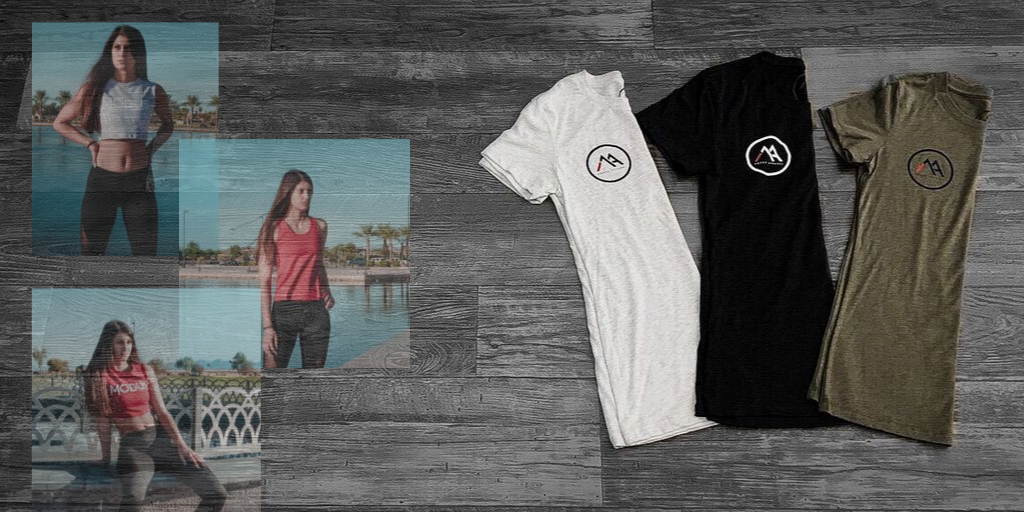 NEW WOMENS TEES / NEW MODEL