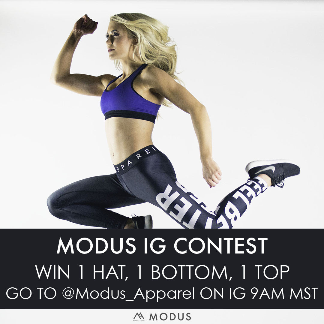 Win over $100 of FREE Modus Apparel Product