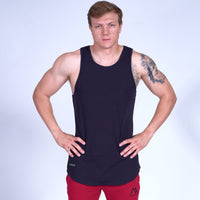 ENERGY Scoop Tank Top- Navy