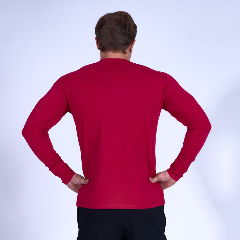 Competitor GRAPHIC Long Sleeve Shirt- Red