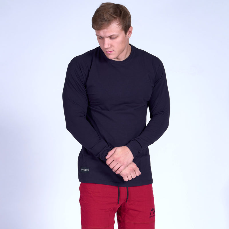 COMPETITOR Long Sleeve Shirt- Navy
