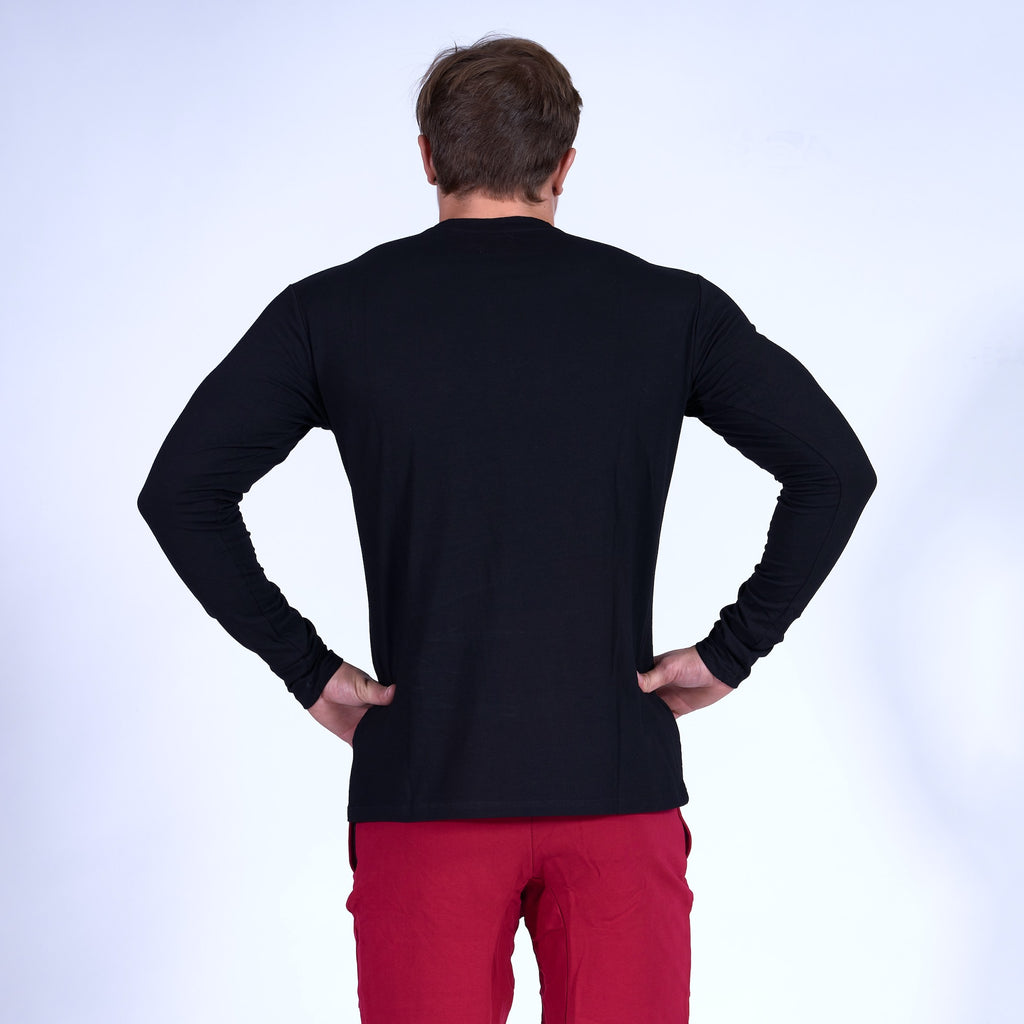 COMPETITOR Long Sleeve Shirt- Black