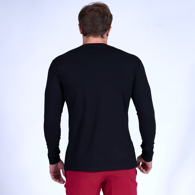 Competitor GRAPHIC Long Sleeve Shirt- Black