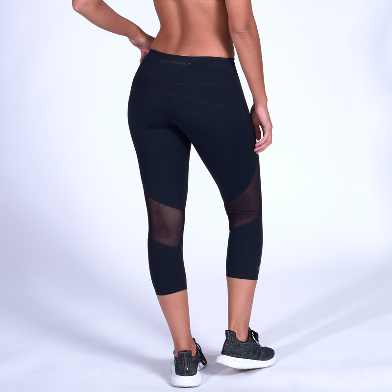 Stealth Capris - Black