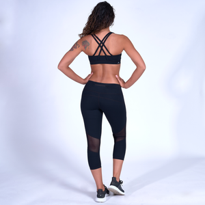 Stealth Sports  Bra - Black