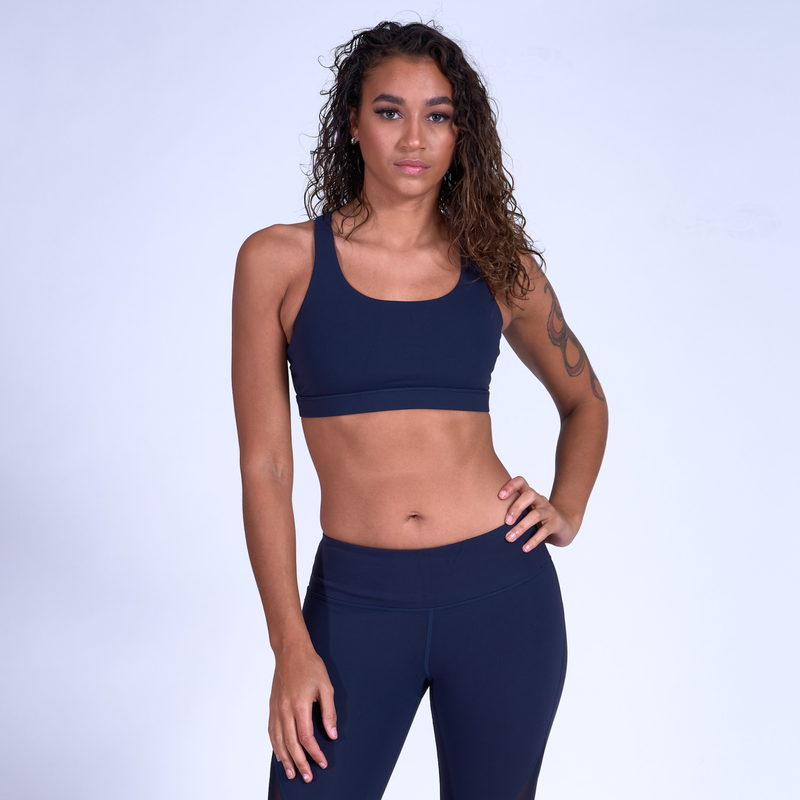 Stealth Sports Bra - Navy