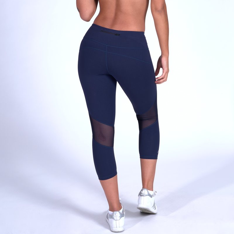 Stealth Capris - Navy