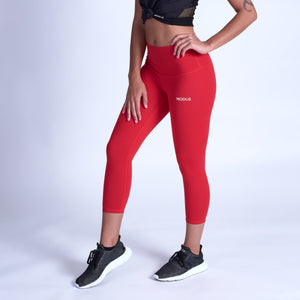 ENERGY Sculpt Capris - Red