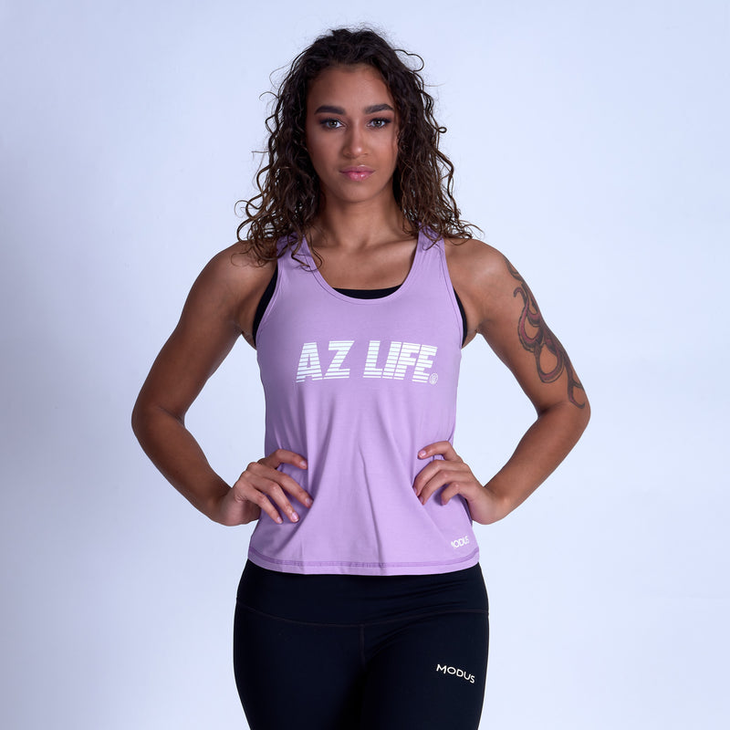 AZ Life ELECTRIC VINTAGE Tank Top- Lavender
