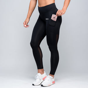 Wonder Mesh Leggings - Black