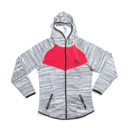 Limitless Jacket - Marble Grey / Red