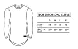 Tech Stitch Long Sleeve - Burgundy