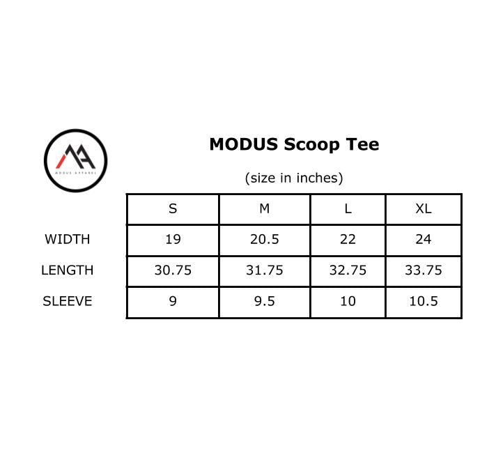 MODUS Scoop Tee- White