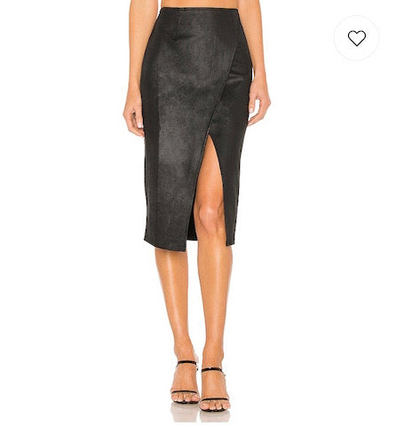 Free People Whitney Vegan Skirt