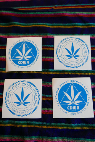 CDWA Leaf Logo Decal - FREE WITH ANY PURCHASE