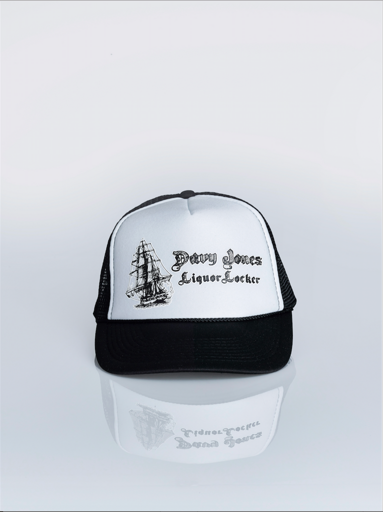 Davy Jones Liquor Locker Trucker Hats