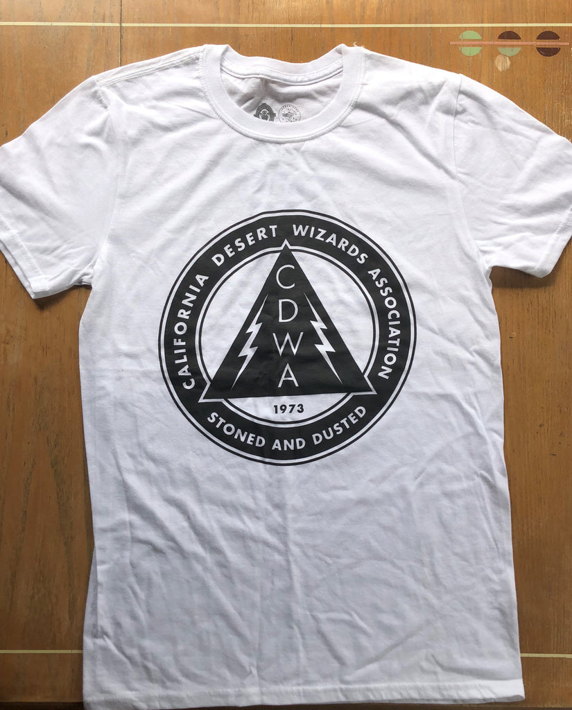 White Concert Tee (large front logo)