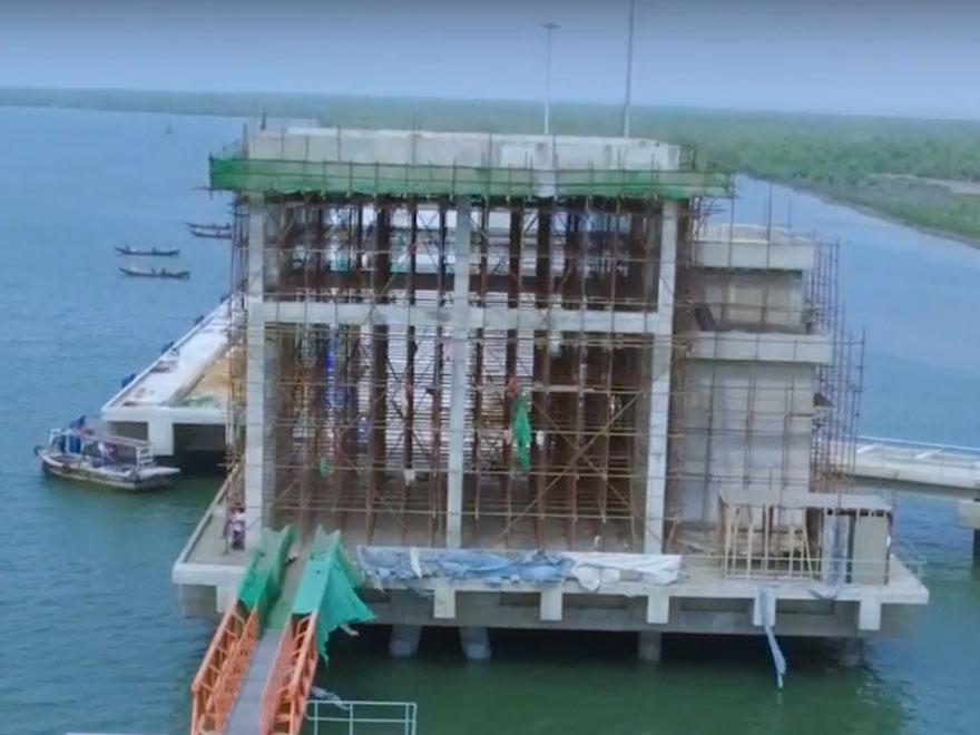 Four-Year Construction Time Lapse: Coal, Clinker and Cement Terminal Project
