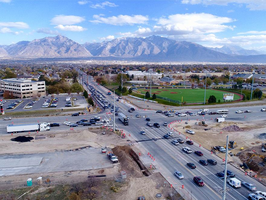Customer Footage: Final Time Lapse of 18-Month UDOT Highway Construction Project