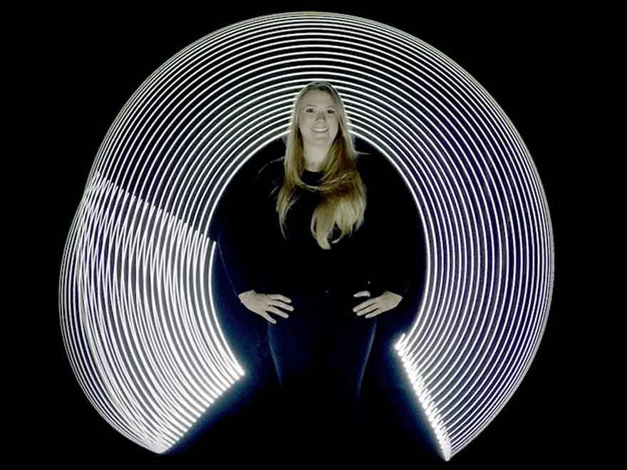 CamDo Customer Uses Bullet Cables & GoPro HERO4 Cameras to Create Light Graffiti Effect