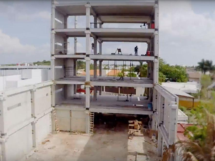Customer Project: Prefabricated Corporate Office Construction Time Lapse