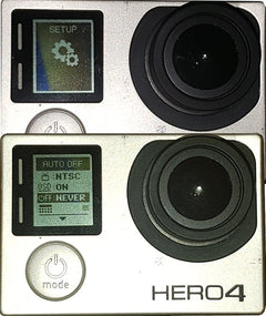Set GoPro's Auto-Off to NEVER