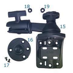 Included with the Swivel Mount Kit