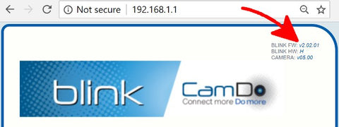 CamDo Solutions Blink Firmware