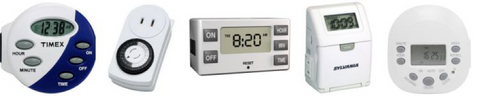 Consumer Timer can be used to program the hours of operation