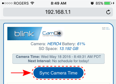 Blink: GoPro Time Lapse Controller Manual - CamDo Solutions