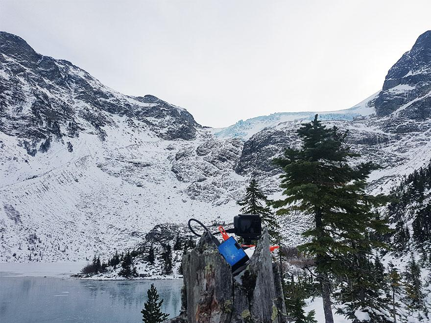Winter Time Lapse at Joffre Lake