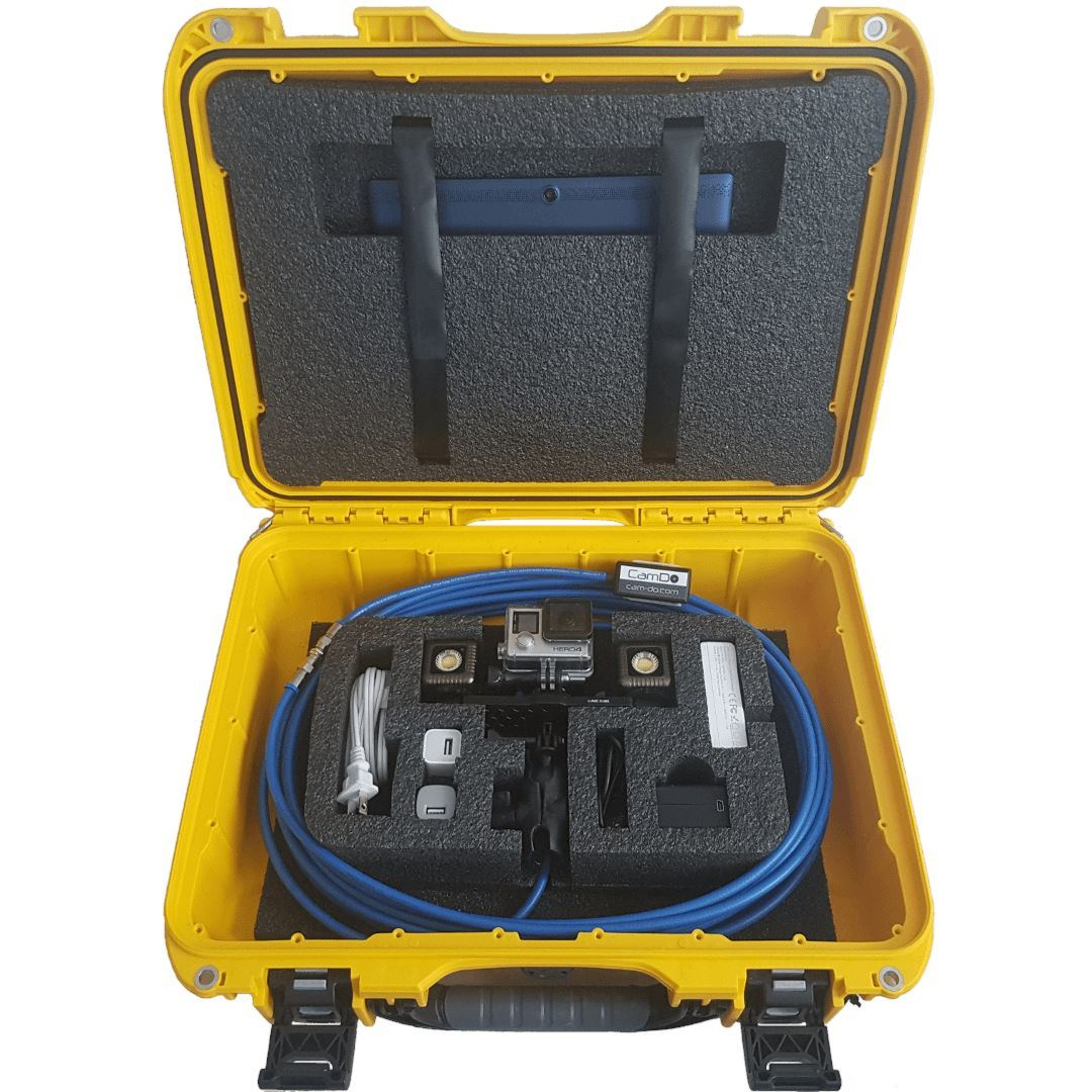 Drop Camera Underwater WiFi Inspection Pack Cable CamDo Solutions