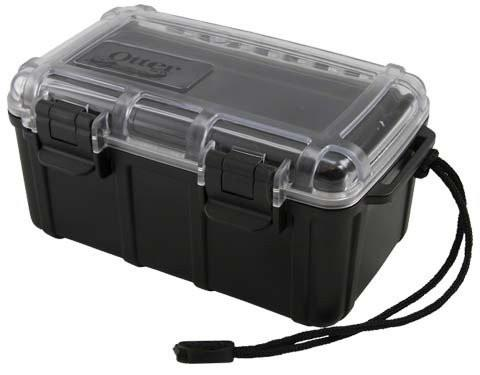 Otterbox 2500-21, Black w/Clear Lid Enclosure CamDo Solutions