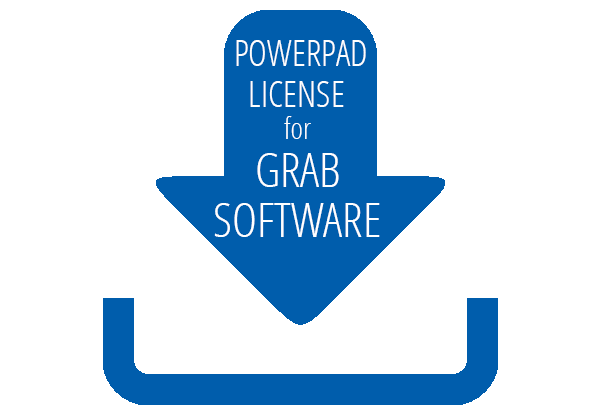 PowerPad License For Grab Software