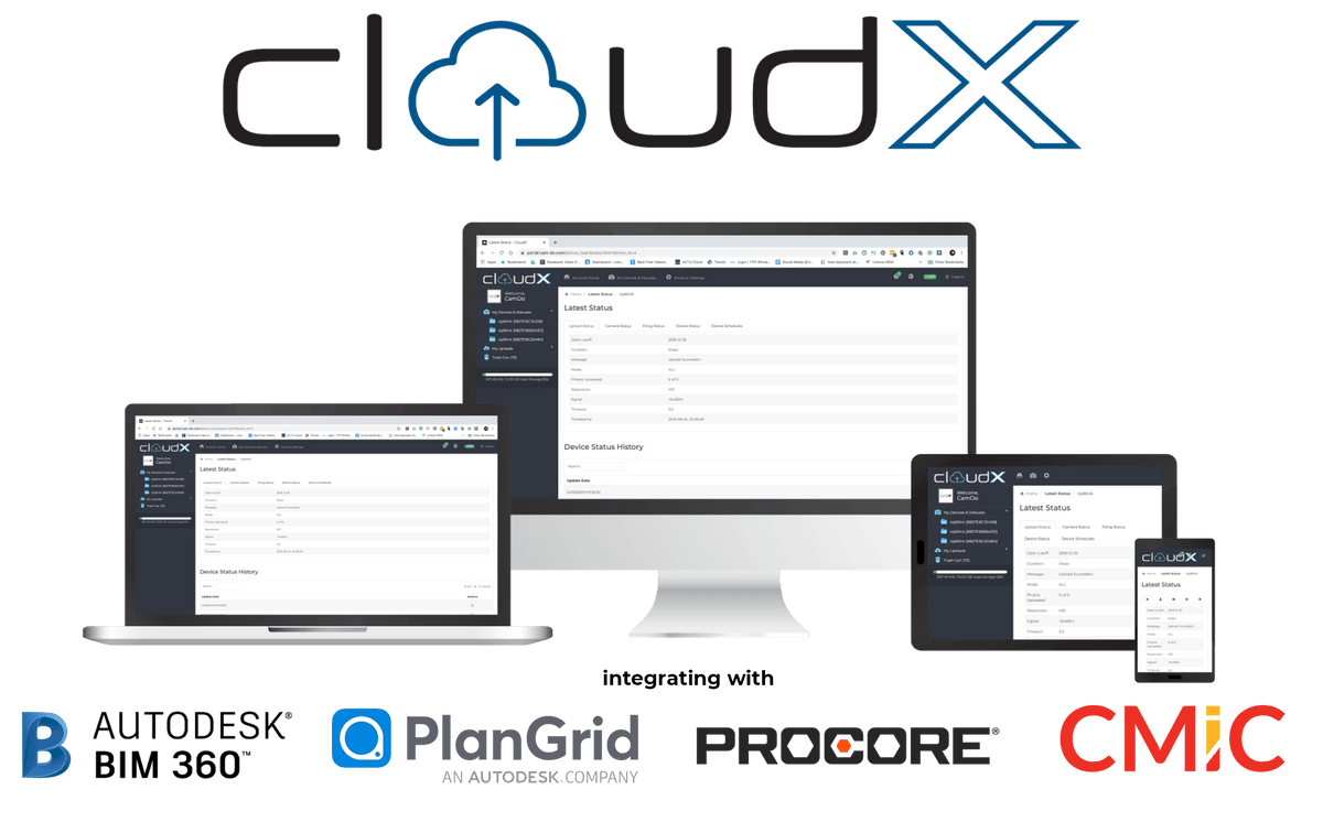 CloudX - Online Time Lapse Platform Software CamDo Solutions