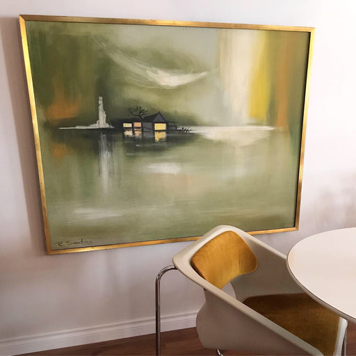 R. Sontag Midcentury Painting