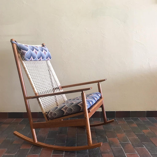 Hans Olsen for Juul Kristensen Rocking Chair