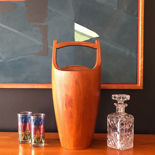 Sold • Dansk Teak Ice Bucket