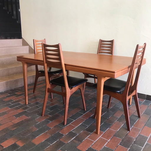Sold • Danish Teak Dining Table