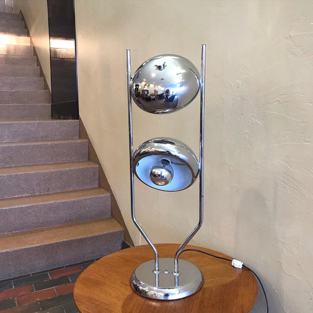 Chrome Space Age Lamp