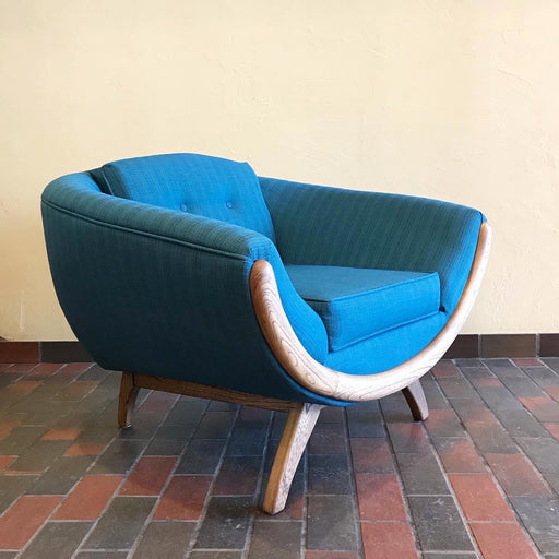 Midcentury Smiley Chair