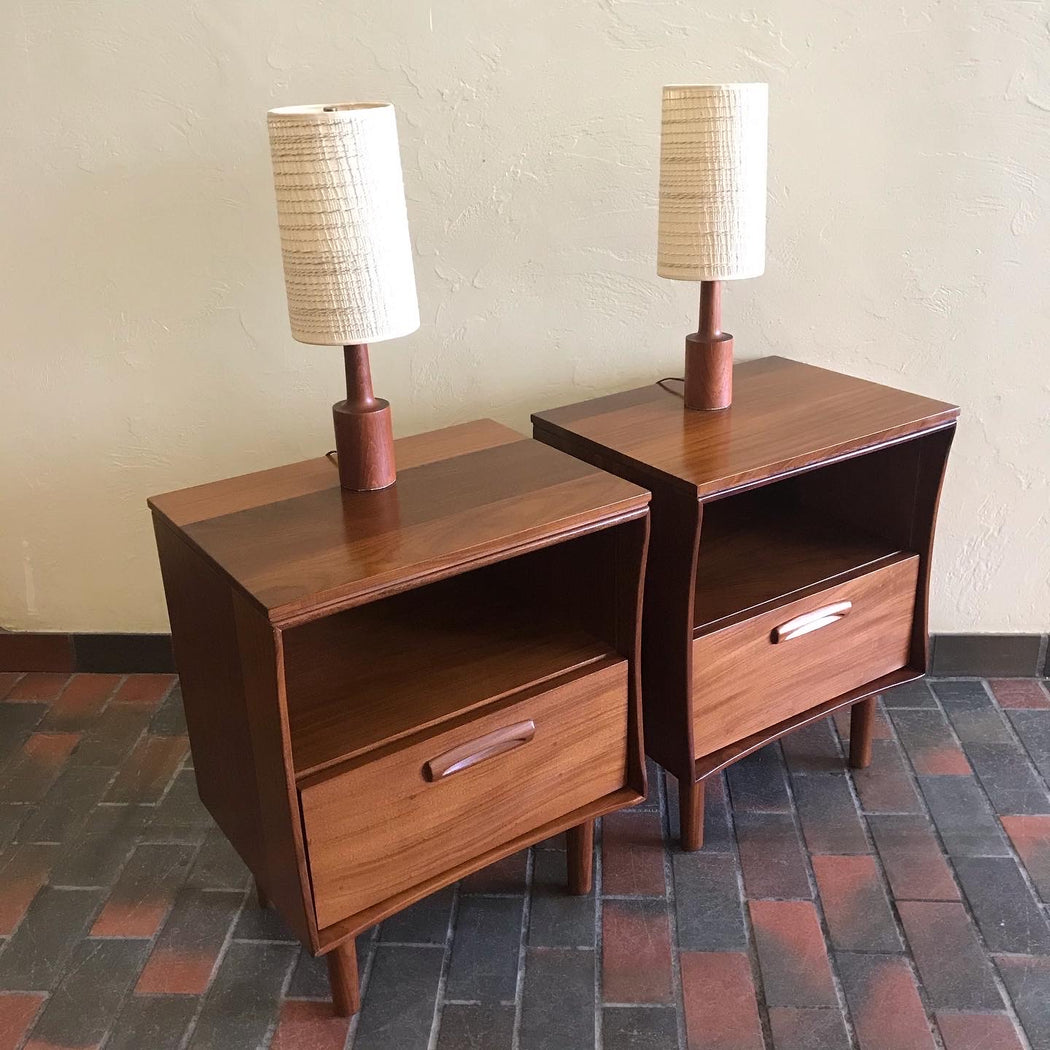 Imperial Solid Teak Bedside Tables