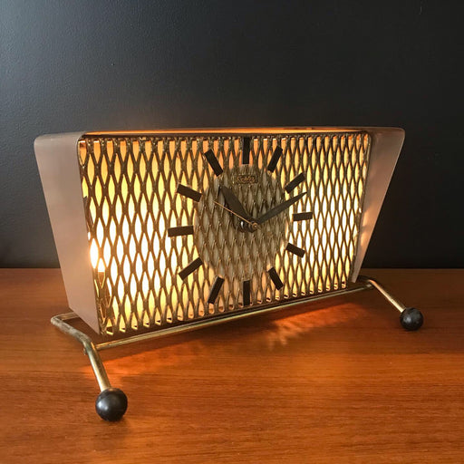 Sold • Atomic TV Lamp Clock