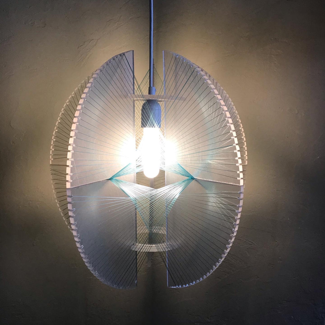 Space Age String Lamp