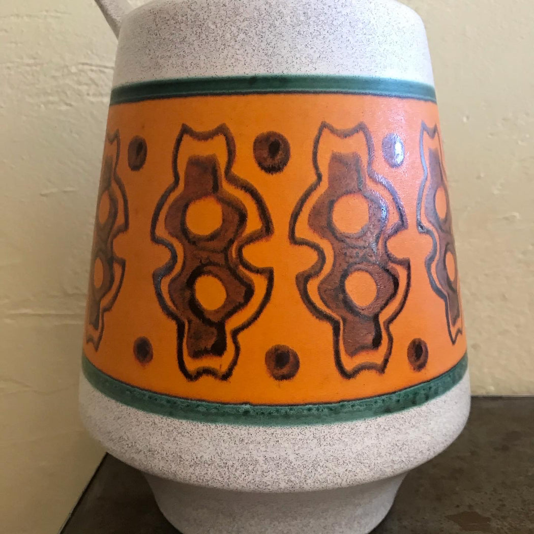 Large West German Pottery