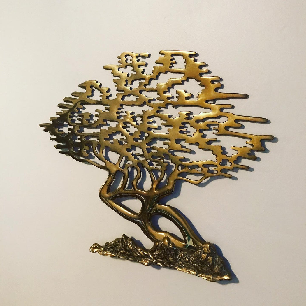 Small Brass Tree