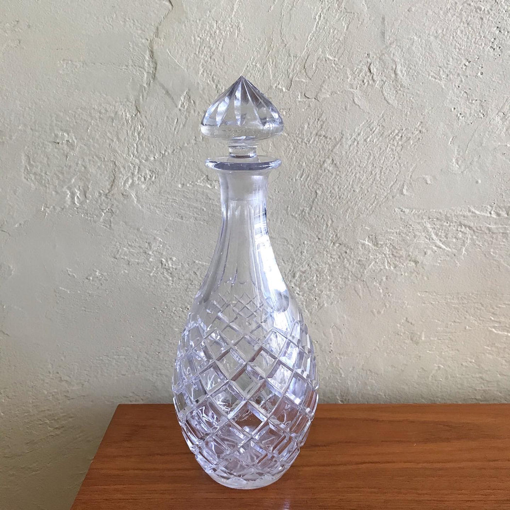 Crystal Pineapple Decanter