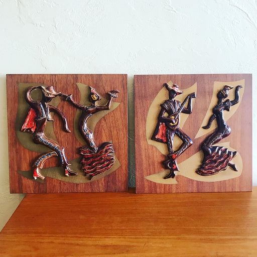 Maurice Chalvignac Wall Plaques